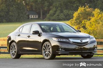 Insurance rates Acura TLX in Buffalo
