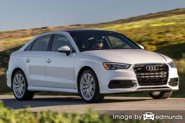 Insurance rates Audi A3 in Buffalo