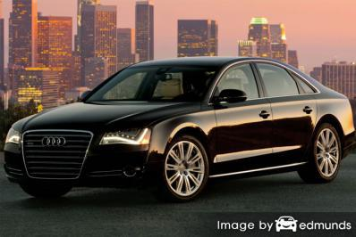 Insurance rates Audi A8 in Buffalo