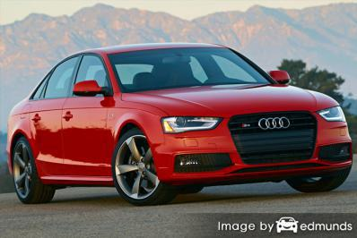 Insurance rates Audi S4 in Buffalo