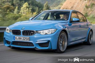 Insurance rates BMW M3 in Buffalo