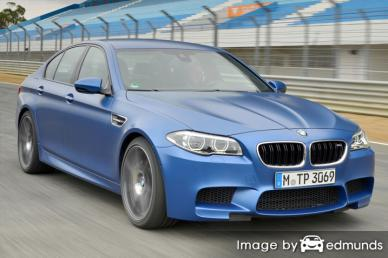 Insurance quote for BMW M5 in Buffalo