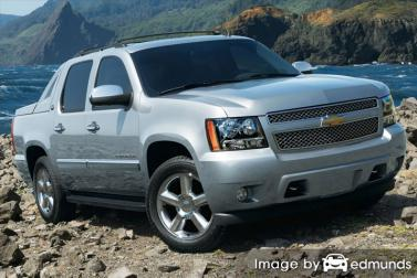 Insurance rates Chevy Avalanche in Buffalo