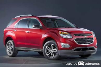 Insurance rates Chevy Equinox in Buffalo