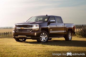 Insurance quote for Chevy Silverado in Buffalo