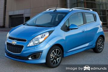 Insurance rates Chevy Spark in Buffalo