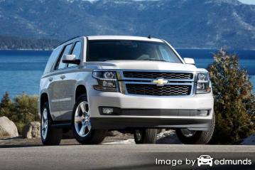 Insurance rates Chevy Tahoe in Buffalo