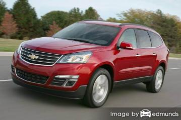 Insurance rates Chevy Traverse in Buffalo