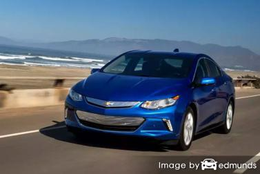 Insurance rates Chevy Volt in Buffalo