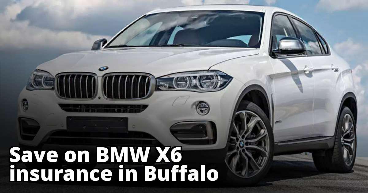BMW X6 Insurance Quotes in Buffalo, NY