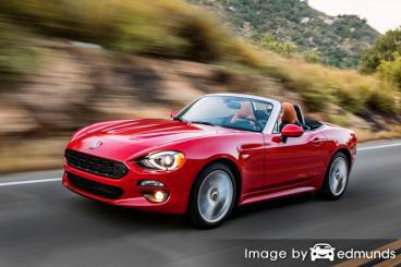 Insurance quote for Fiat 124 Spider in Buffalo