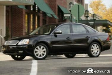 Insurance rates Ford Five Hundred in Buffalo