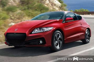 Discount Honda CR-Z insurance