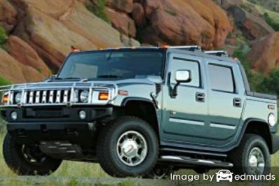 Insurance rates Hummer H2 SUT in Buffalo