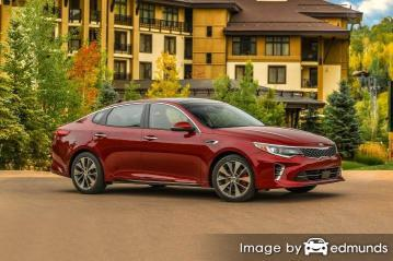 Insurance rates Kia Optima in Buffalo