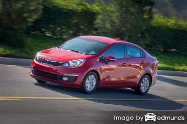 Insurance quote for Kia Rio in Buffalo