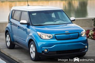 Insurance rates Kia Soul EV in Buffalo