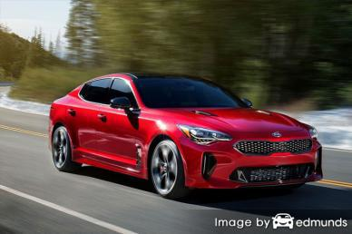 Insurance quote for Kia Stinger in Buffalo