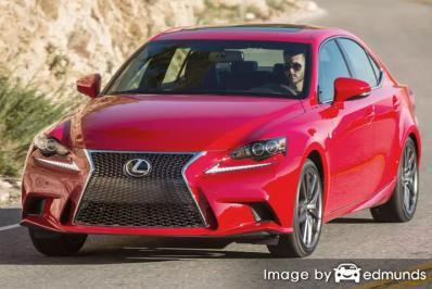 Insurance rates Lexus IS 200t in Buffalo