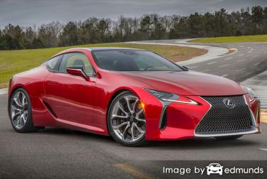 Insurance quote for Lexus LC 500 in Buffalo