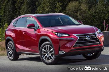 Insurance rates Lexus NX 300h in Buffalo