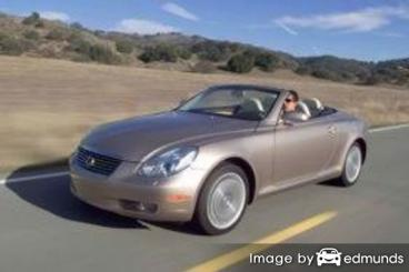 Insurance quote for Lexus SC 430 in Buffalo