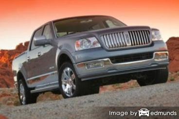 Insurance rates Lincoln Mark LT in Buffalo