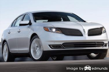 Insurance quote for Lincoln MKS in Buffalo