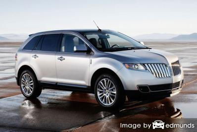 Discount Lincoln MKT insurance