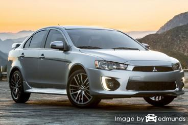 Insurance rates Mitsubishi Lancer in Buffalo