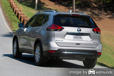 Insurance rates Nissan Rogue in Buffalo