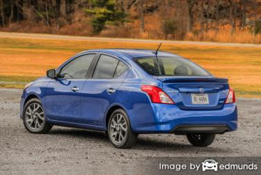 Insurance quote for Nissan Versa in Buffalo
