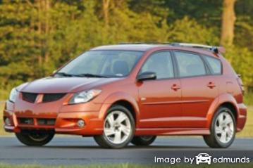 Insurance quote for Pontiac Vibe in Buffalo