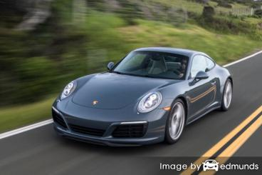 Insurance quote for Porsche 911 in Buffalo