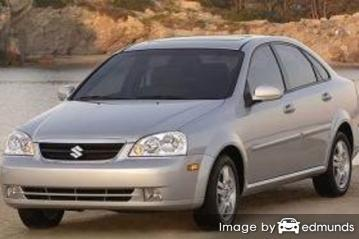 Insurance quote for Suzuki Forenza in Buffalo