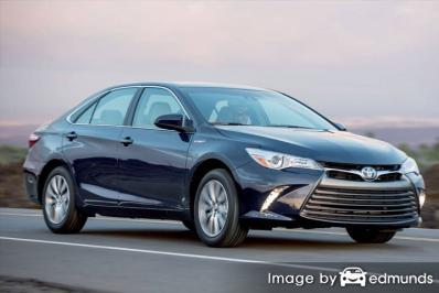 Discount Toyota Camry Hybrid insurance