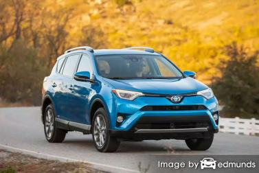 Insurance quote for Toyota Rav4 Hybrid in Buffalo